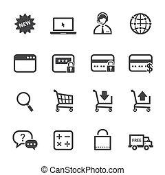 Online-Icons einkaufen.