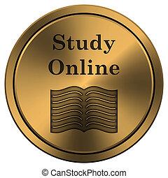 online, ikone, studieren