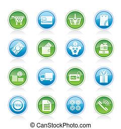 Online-Shop-Ikonen