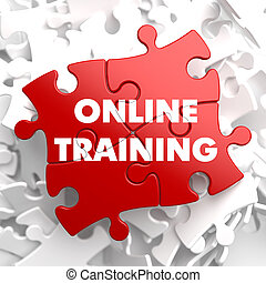 Online-Training bei Red Puzzle.