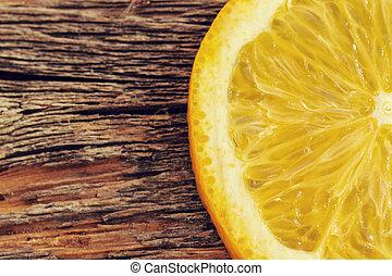 orange, köstlich