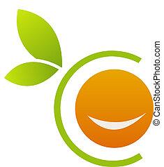 Orangen-Logo