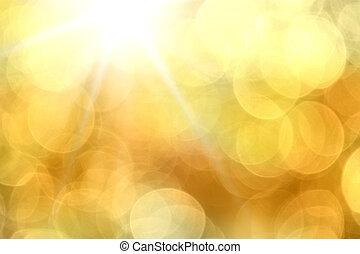 Orangenlicht Hintergrund.