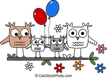 Owl-Familie