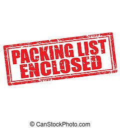 Packliste abgeschlossen