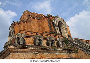 pagode, detail