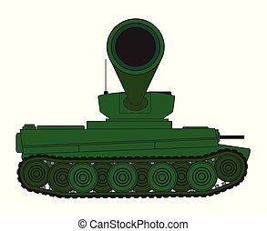 Panzergewehrfass.