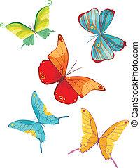 papillon, satz
