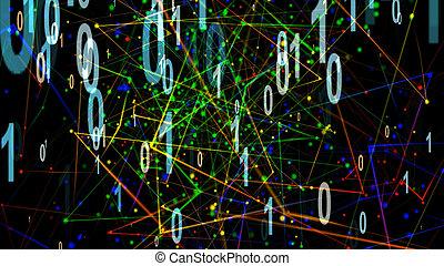 Partikel-Digitalisierung.
