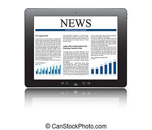 pc, tablette, geschaeftswelt, artikel