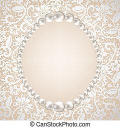 Perlenrahmen