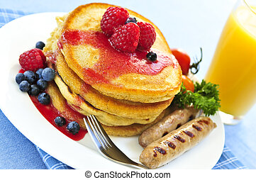 pfannkuchen, fruehstueck
