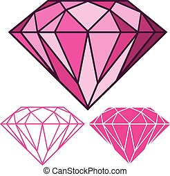 Pinker Diamant