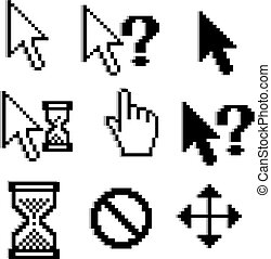 Pixelierte Grafiken