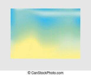 plakat, gelber , blaues, beschwingt, banner, design, grün, poppig, web, hintergrund., flieger, schablone, steigung, modern, decke, presentation.eps