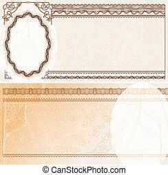 plan, banknote, leer