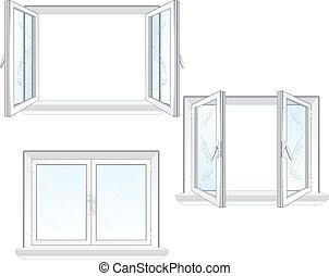 Plastikfenster