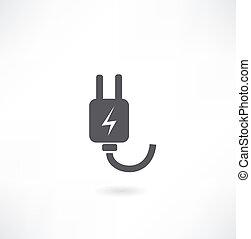 Plug Icon.