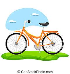 poppig, fahrrad