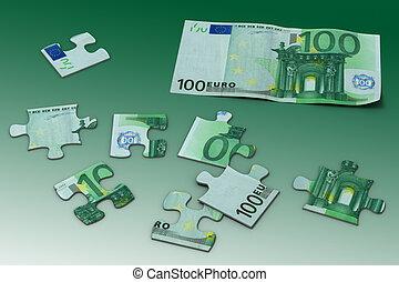 puzzel, euro