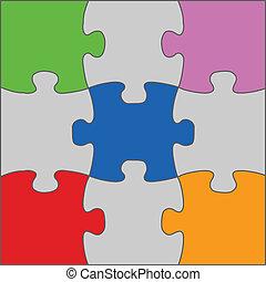 Puzzle-Lösung