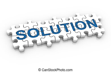 Puzzle-Lösungswort
