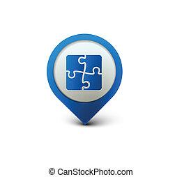 Puzzle Web-Icon