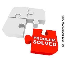 Puzzleteile - Problem gelöst