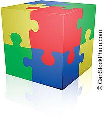 Puzzlewürfel