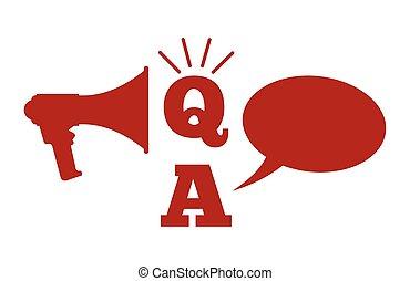 Q und a - Fragen und Antworten con.