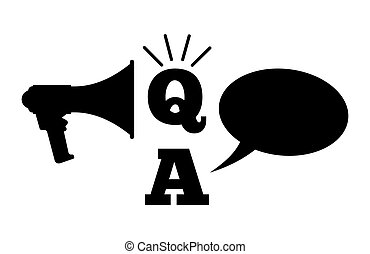 Q und a - Fragen und Antworten.