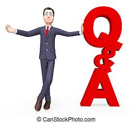 Q und ein Mittel häufig gestellt Fragen und Antworten.