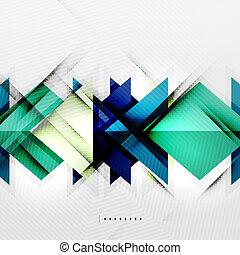 Quadrate und Schatten - technologisch abstrakter Hintergrund.