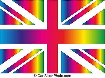 Rainbow Union Jack.