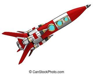 rakete, raum