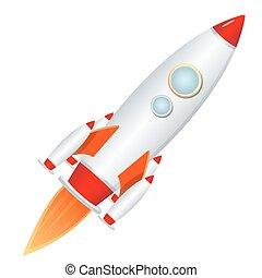 raketenwerfer, rakete
