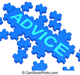 Ratgeber-Rätsel zeigen Führung und Unterstützung