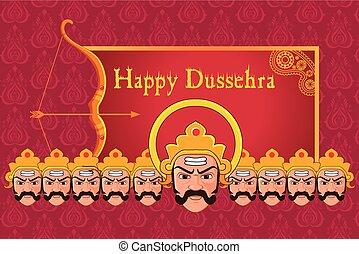 Ravana in Happy dussehra.