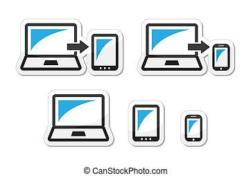 Reaktionsdesign - Laptop, Tablet
