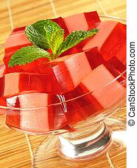 Red & Pink Gelatin