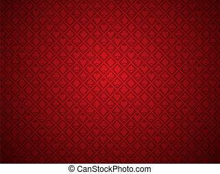 Red Poker Hintergrund