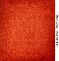 Red vignettet Textil Hintergrund.
