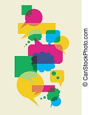 Rede soziale Interaktionsblasen