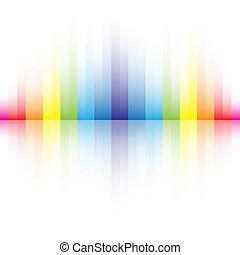regenbogen, abstrakt, farben, hintergrund