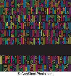 regenbogen, abstrakt, farben, schwarzer hintergrund, banner
