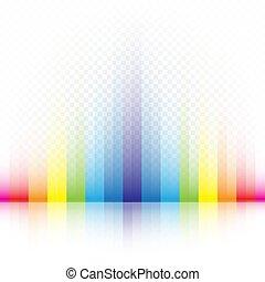 regenbogen, gestreift, farben, hintergrund