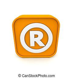 Registriertes Markenzeichen wie RSS