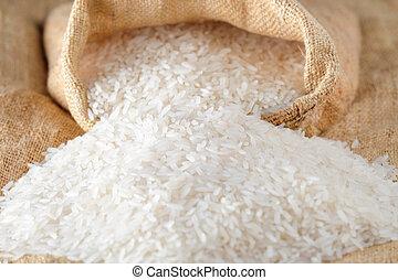 Reis, das Grundnahrungsmittel der Asiaten.