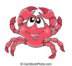 reizend, krabbe