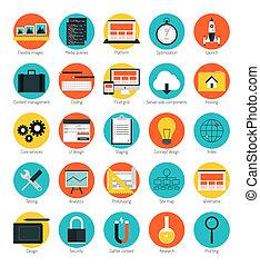Reponsive Web Design Icons gesetzt